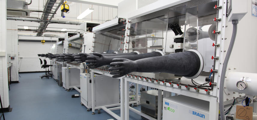 Image of glove boxes