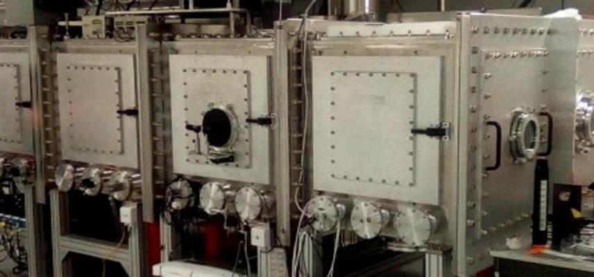 Laser wakefield accelerator beamline A2 in Bunker A, SCAPA